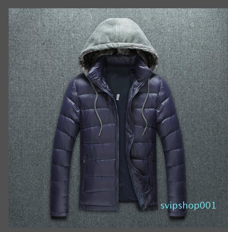 Новый мужской куртка Parka мужчины женщин классический повседневный пуховик пальто мужские наружные теплые перо зимняя куртка мода Homme унисекс пальто