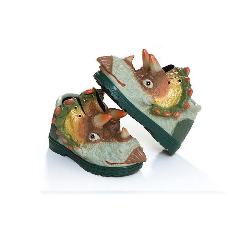 New arrivel Creative 3d dinosaur shoes kids shoes baby girls boys Medium children&#39s sports Keep warm Soft comfortable size eur 25-30