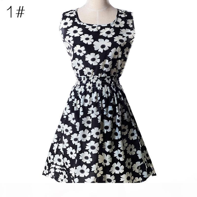 2018 Women Summer Dresses Clothes Sleeveless Plus Size Sexy Vestidos Casual Dress Fashion Party Prom Dress Bodycon Dress Skirt XXL 25 Styles