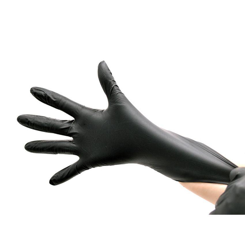 LATEX NITRIL 100-ЧАСТИЧЕСКИЕ АКСЕССУАРЫ ЧЕРНЫЕ TATTOO Road Грузовые перчатки Полотенца Перчатка 3FQH