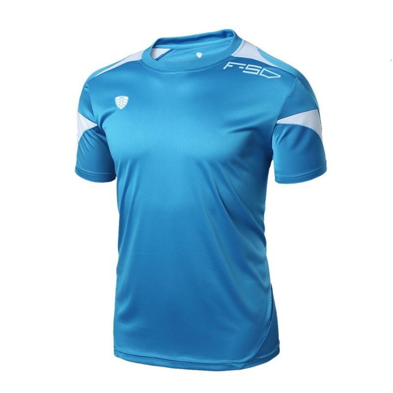 D-B мужская футболка летом тонкий подходит с экипажем шеи футболка мужские спорты с короткими рукавами рубашки повседневные тройники большие размеры M-2XL