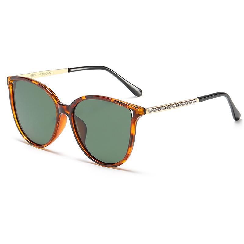 Verres de mode UV400 designer Lady Shades Lentes Sol Mujer 2020 Lunettes de soleil Femmes Ultralight de Oculos Cadeau polarisé Ufoei