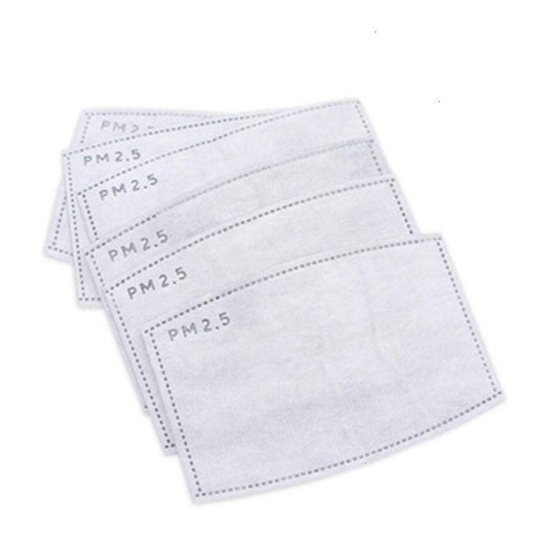 Face PM2.mask Pad avec navire gratuit! PLY de carbone actif remplaçable PM 2.mast filtre PM2.5 5 s Air Masque Qafj330