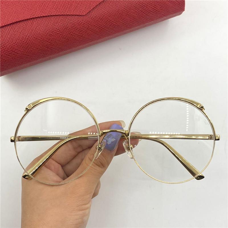 CT0149S جديد الأعلى الرجال والنساء نمط الأعمال الأزياء عيون البصرية أعلى المعادن إطار كامل نظارات البيضاوي الإطار جودة عالية تحتوي على مربع