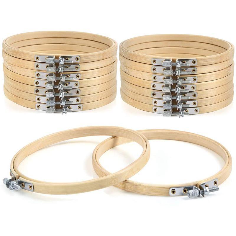 Швейные понятия Инструменты 16 штук 6-дюймовый вышивка обруча круга крест крестом кольцо для художественного сустава удобный и уловитель мечты