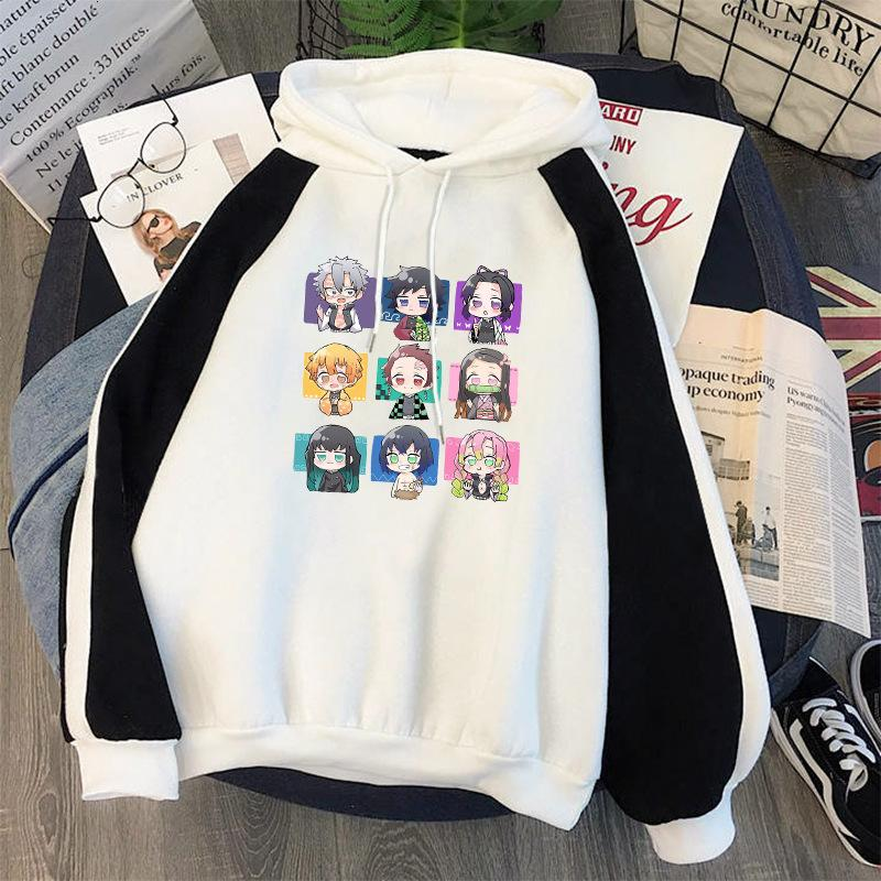 Klinge Pullover Ghost Hoodie Lose Große Größe Mode Cartoon Pop Street Marke Co Markened Jacke