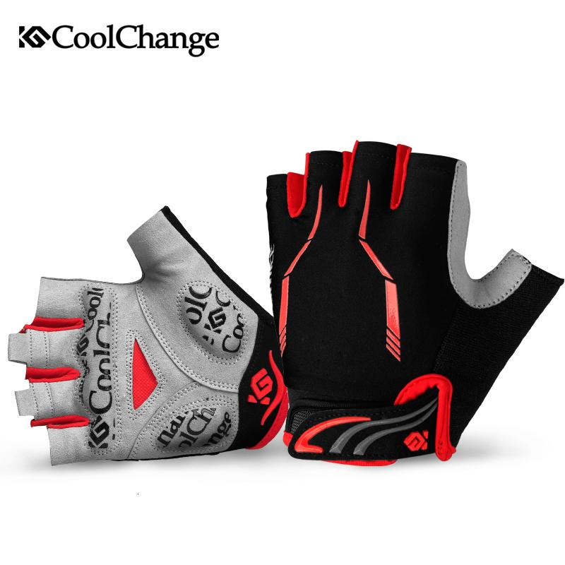 CoolChange Estate Mezza Finger Bikes Biking Palm Road Mountain Bike Bike MTB con Guanti sportivi PARKOUR BAGNO