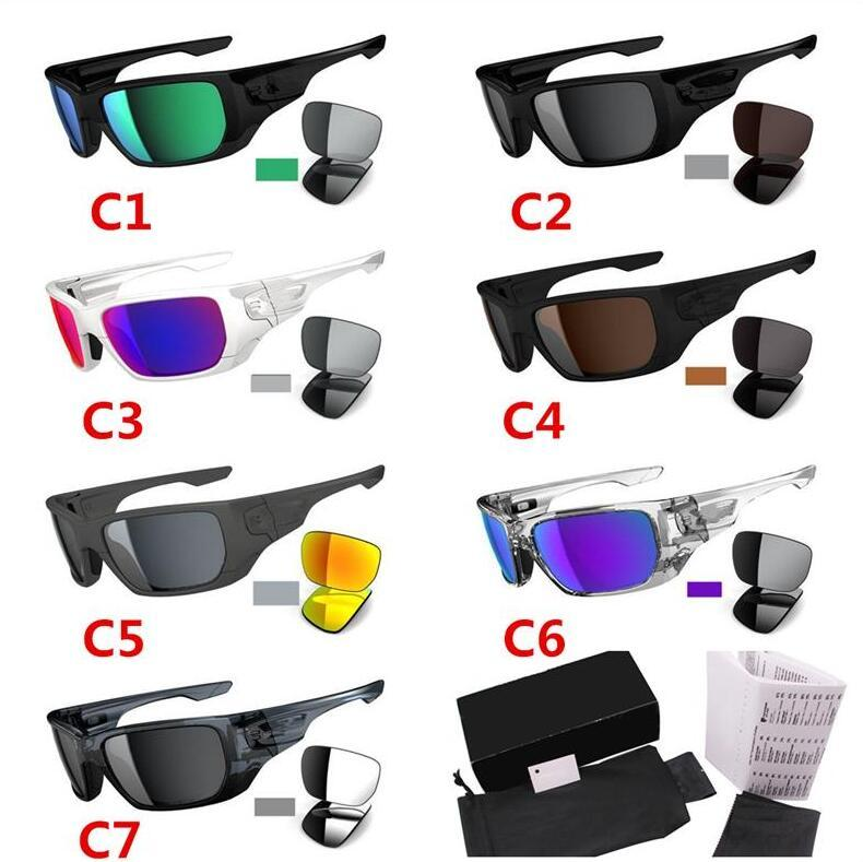 Summer Shades Sunglasses Men and Women Sports Male Driving Glasses Cross-Country 7 Style Switchs Sunglasses UV400 Outdoor Cycling Eyewear