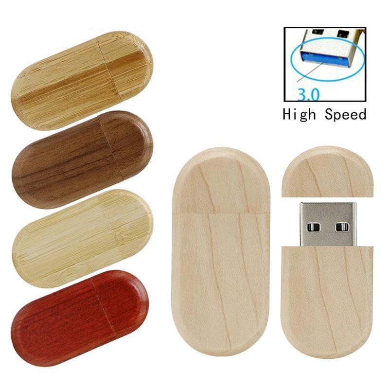 Wooden Usb 3.0 Pen Drive 8GB 16GB 32GB Usb Flash Drive Pendrive 64GB Memoria Usb Stick Flash Customize U Disk Flash