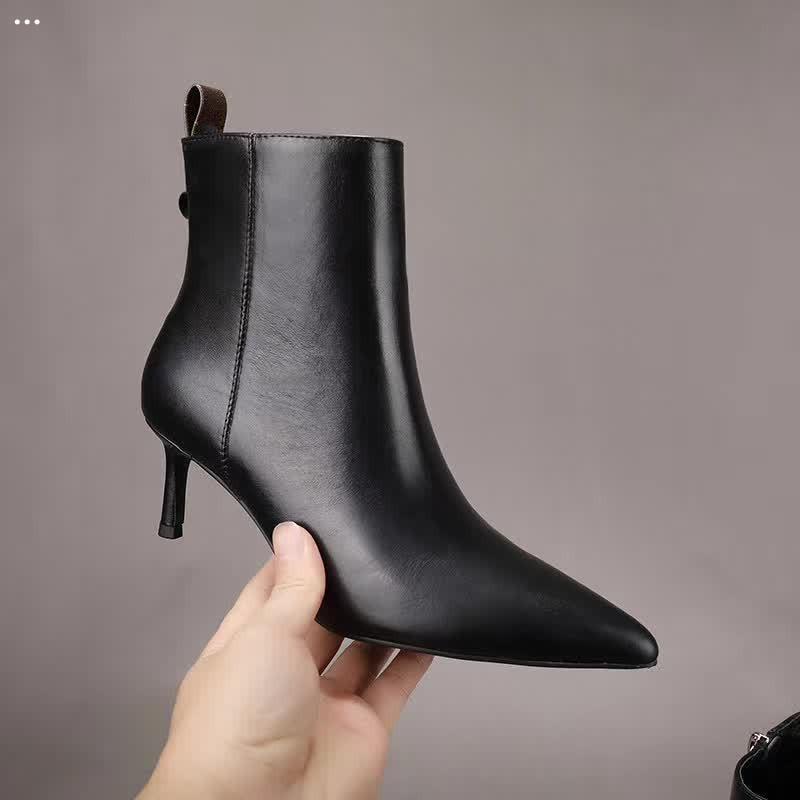 20ss mix 13 модель Женщины дизайн ботинок черные высокие каблуки ботинок ботинок красный нижний Spikes Boots платформа моды сапоги на 100% кожаная змея кожа