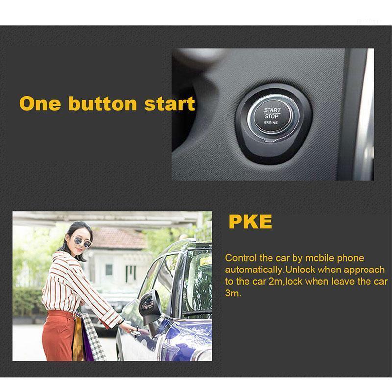 Автомобильная сигнализация Автоматическая запуск Центральный замок с дистанционным запуском Автосигнализация Автосигнализация Автомобильные аксессуары Стоп Кнопка BICLELE1
