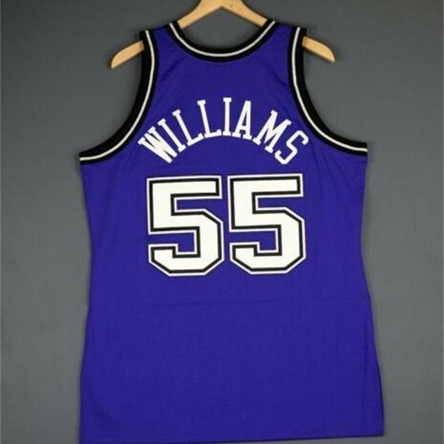 Benutzerdefinierte 604 Jugendfrauen Vintage Jason Williams Mitchell Ness 98 99 College Basketball Jersey Größe S-4XL oder benutzerdefinierte Name oder Anzahl Jersey
