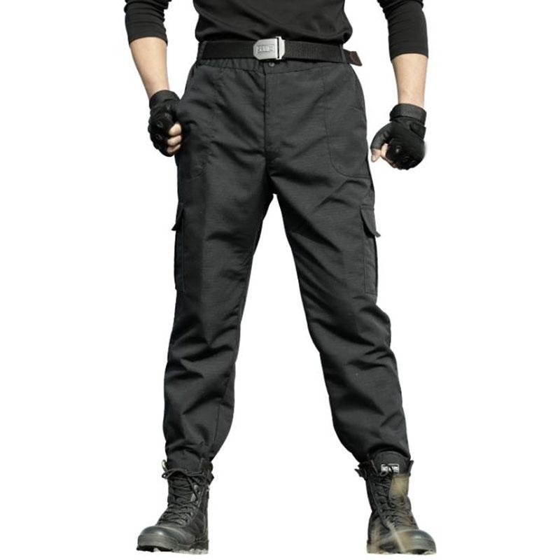 Erkek Swat Pantolon Taktik Askeri Kargo Siyah Militar Parça İş Pantalon Travail Homme Tactico Homme Pantalon Tactico Hombre 201109