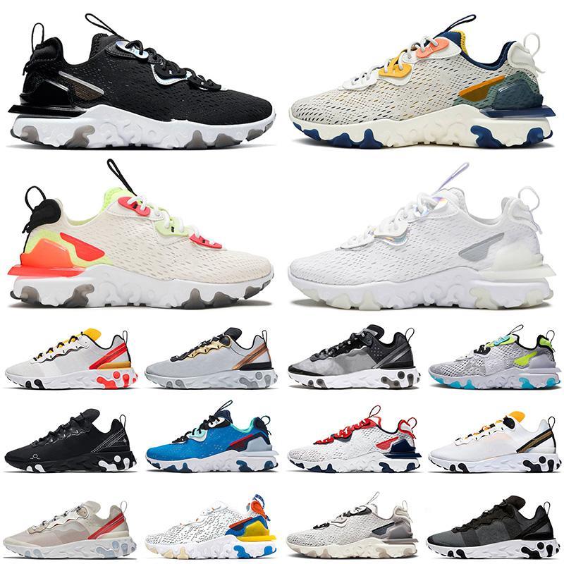 epic  react vision react type n354 react element 55 87 undercover 2020 رائجة البيع أحذية الجري ثلاثية أبيض أسود عنصر التفاعل التخطيطي 55 87 النساء الرجال المدربين رياضة التنس