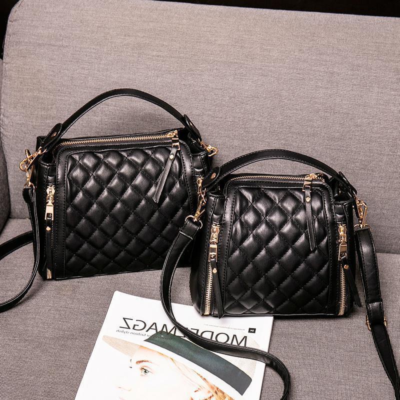 маленький маленький c lingge семья k сумка женская 2020 новая мода корейский корейский промокший портативный ведро женская сумка чистая красная маленькая черная сумка