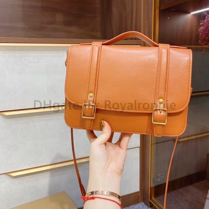 2021 Melhores Mulheres baratas Moda Bolsas De Ombro Letra Sacos Sacos Simples Messenger Bag Artwork Bags Batchel Bag