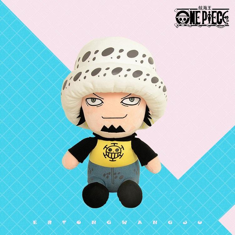 30cm One Piece Figure Toys Tony Rufy Chopper Pattern Soft Peluche Peluche Bambole Kawaii Lovely Cartoon dei cartoni animati Giocattoli per bambini Giocattolo regalo di compleanno