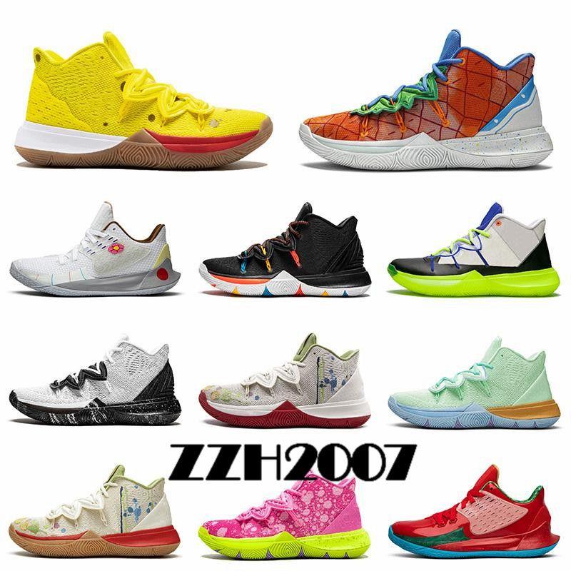 حار بيع 5 v أحذية كرة السلة للرجال 5 ثانية ikhet celtics الأسود ماجيك فرعون تاكو كامو الرياضة رياضة المدربين حجم الولايات المتحدة 12 EUR 46