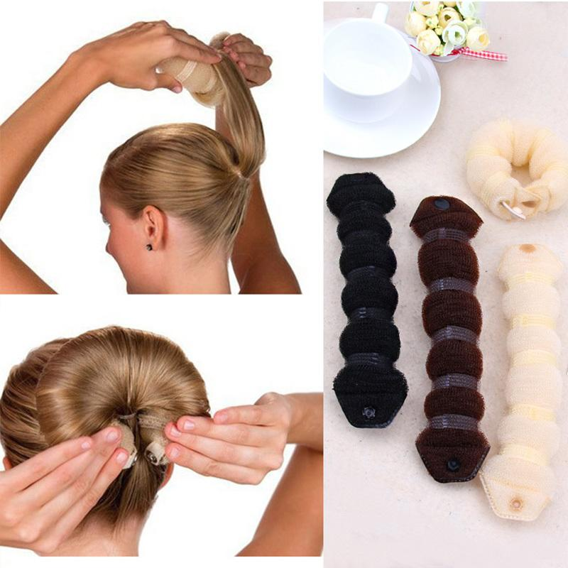 Nouveaux outils de mode Magic Bublier rapide Magic Bandeau long bandeau Femmes bricolage Bandes de cheveux Bands de fille Bands Hair Accessoires Q1202