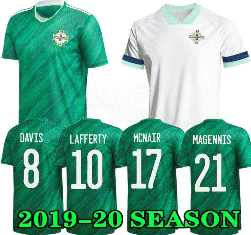 Nordirland Soccer Trikots 19 20 Lafferty Euro 2020 Home Herren Kids Davis Magnis Football Hemd Evans McNair Boyce Jersey Irland