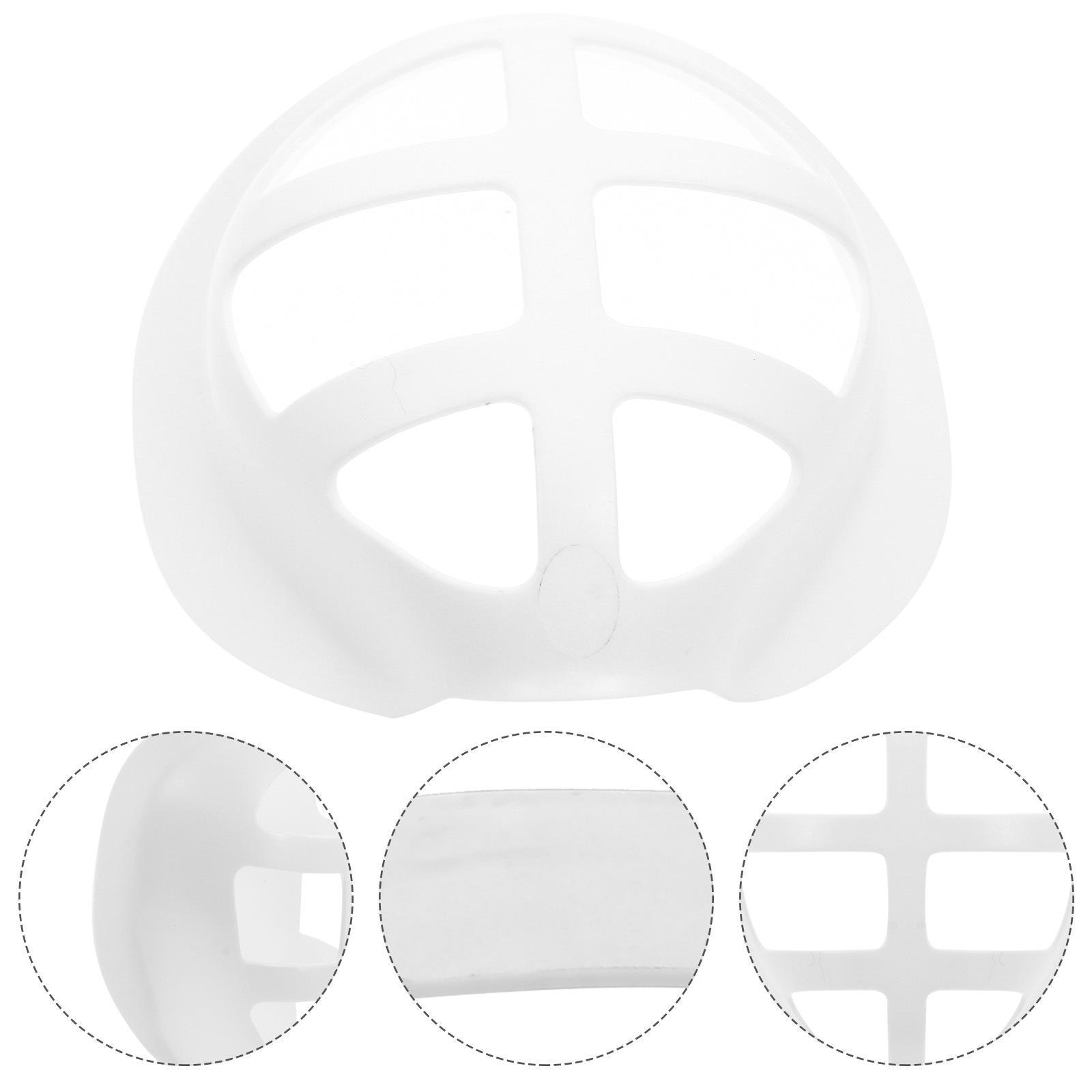 3D Maskenhalterung Lippenstift Schutzständer Maske Innenstütze zur Verbesserung des Atmens Glattmasken Werkzeugzubehör OWB3327
