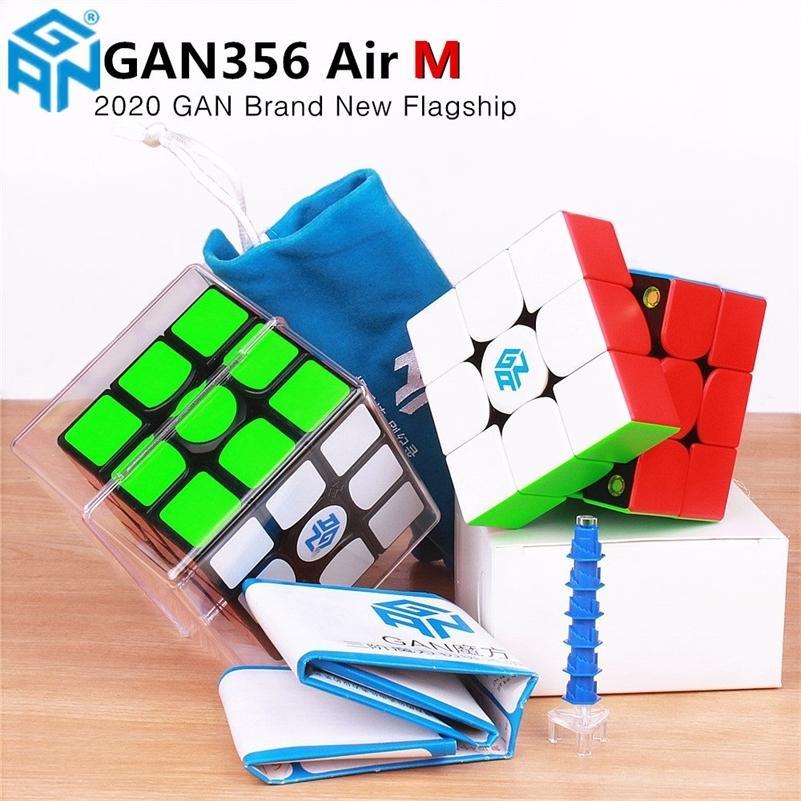 GAN356 AIR M 3x3x3 Магнитная магическая скорость GAN CUBE GAN356AIR M Магниты головоломки Кубики образовательные игрушки GAN 356 AIR M для детей 201219