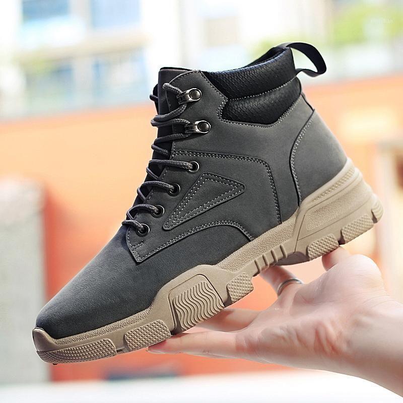 2020 New Winter Boots Men Outdoor High Top Shoes Comfortable Waterproof Sneakers Men Zapatos De Hombre Bottes Pour Hommes1