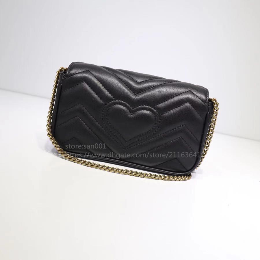 2020 Nueva moda de cuero genuino para mujer Bolsas de Crossbody Bolsas Mujeres y Hombres Carteras Cambiar monedero Monedero Monedero Monedero Bolsas de hombro