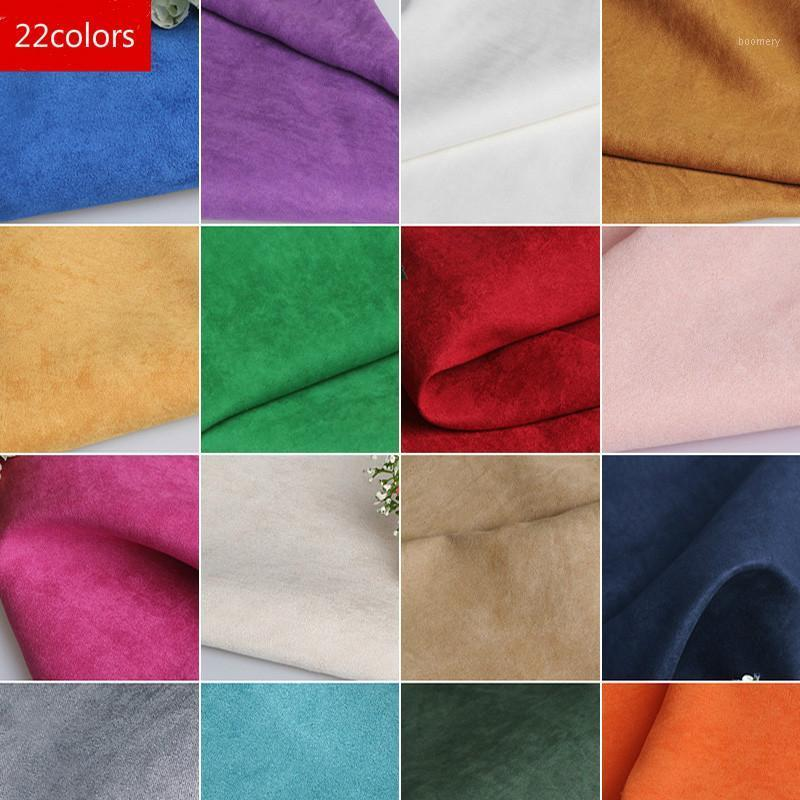 50x150cm Faux Suede Fabric Solid Color Modern Home Textile Sewing Patchwork Fabric DIY Material For Garments Decoration1