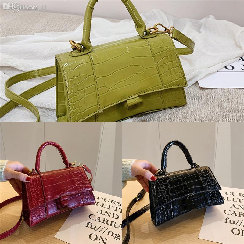 ROmho Top designer Quality color Luxury handbag brand in usas Women Shoulder bag gold and silver handbag bag Crossbody Pure color chain