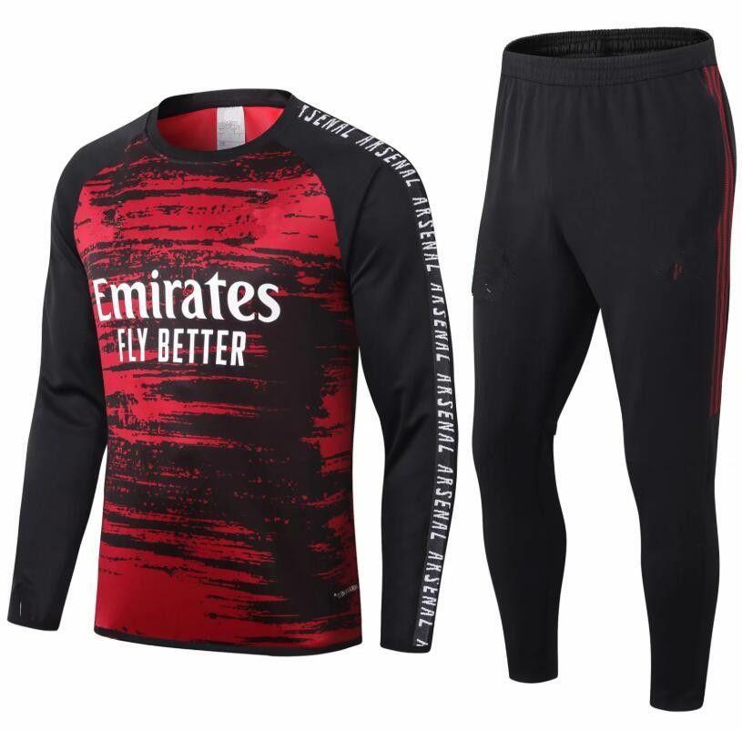 NCAA New 2020 Asen Thai quality soccer tracksuit 2020 2021 pepe football training suit soccer jacket pants football voetbal jas trainingspak
