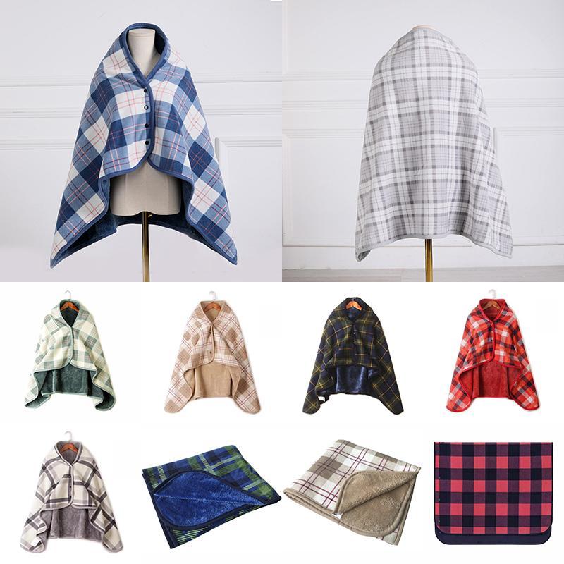 100 * 140 سنتيمتر الأزياء منقوشة محبوك شال المنزلية الدافئة رمي البطانيات ارتداء بطانية مناسبة لغرفة النوم غرفة المعيشة أريكة XD24333