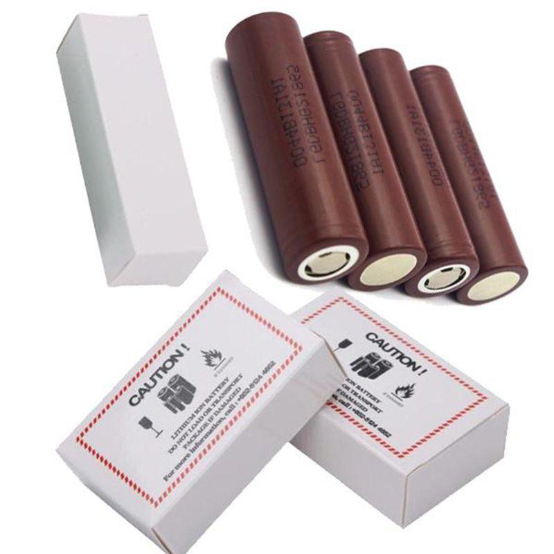 Alta Qualidade HG2 IMR 18650 Battery Brown 3000má 20A 3.7V Alta Dreno Recarregável Lithium Vape Mod Bateria para LG em estoque