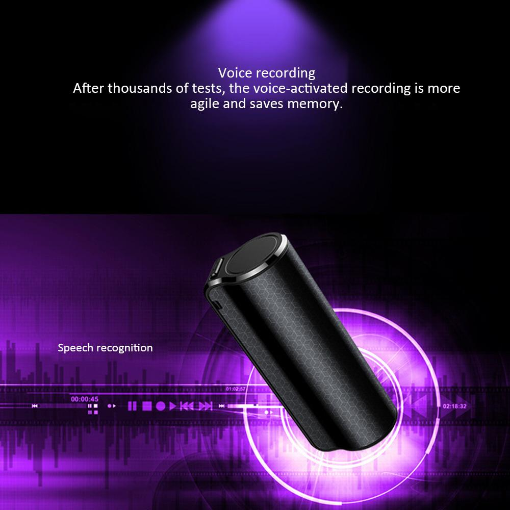 Q70 Grabering Pen Multi-Function Player MP3 Mini Hidden Audio Grabador de voz Grabación Magnetic Professional Digital HD dictáfono