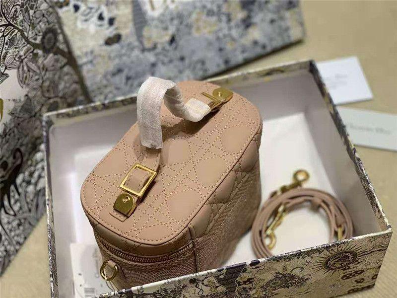 Starp Oval Letra Bordado 2021 Travel Handble Bag Hilo Con Cremallera Cremallera Enlatada Doble Bolsos Lattice Hombro Mujeres Tot Xxxn