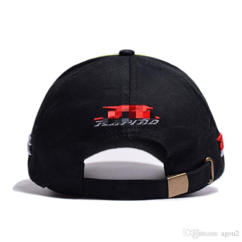 2020 Shade alta qualidade boné de beisebol pai chapéu gp motocicleta homem unisex bordado algodão bonés suzuki ao ar livre esporte f1 caps de corrida