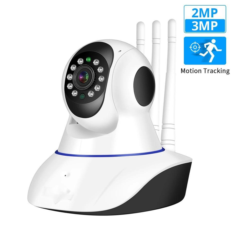 IP sem fio da câmera 1080P Home Security interior Two Way Áudio Pan Tilt CCTV WiFi Câmera de 3MP Baby Monitor Yoosee