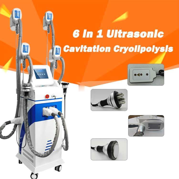 Cryolipolysisz Breaking Machine Cool Sculpting Cryo Therapy Slizition Cawitation RF Машина для удаления жира Липо Лазерная машина CE DHL