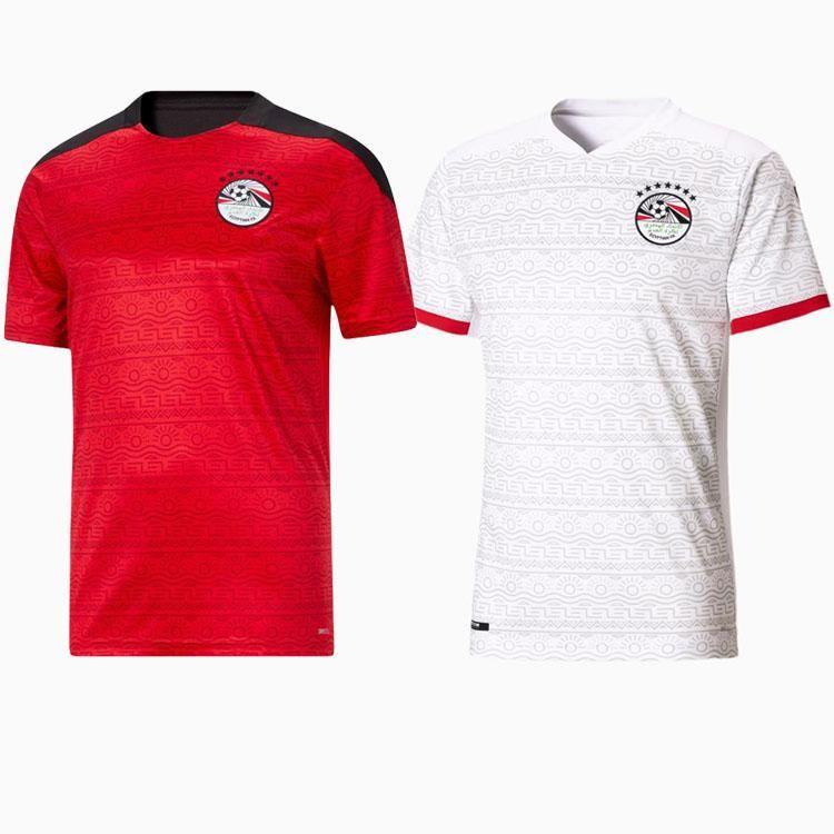2021 Egitto M.Salah Soccer Jerseys 10 Salah Coast Avorio Ghana Marocco A. Hegazi Kahraba Ramadan Jersey 20 21 Casa Away Tai camicie da calcio