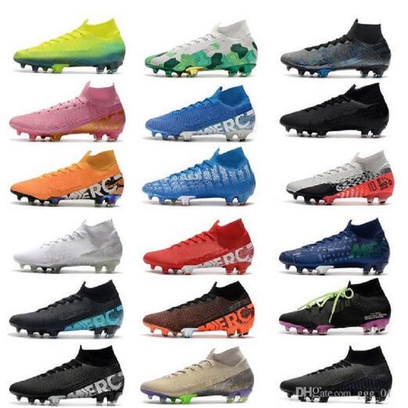 مربع مزدوج 2021 جديد mercurial superfly 7 النخبة se fg neymar ronaldo رجل كرة القدم المرابط أرخص كرة القدم أحذية acc رجل كرة القدم أحذية scarpe