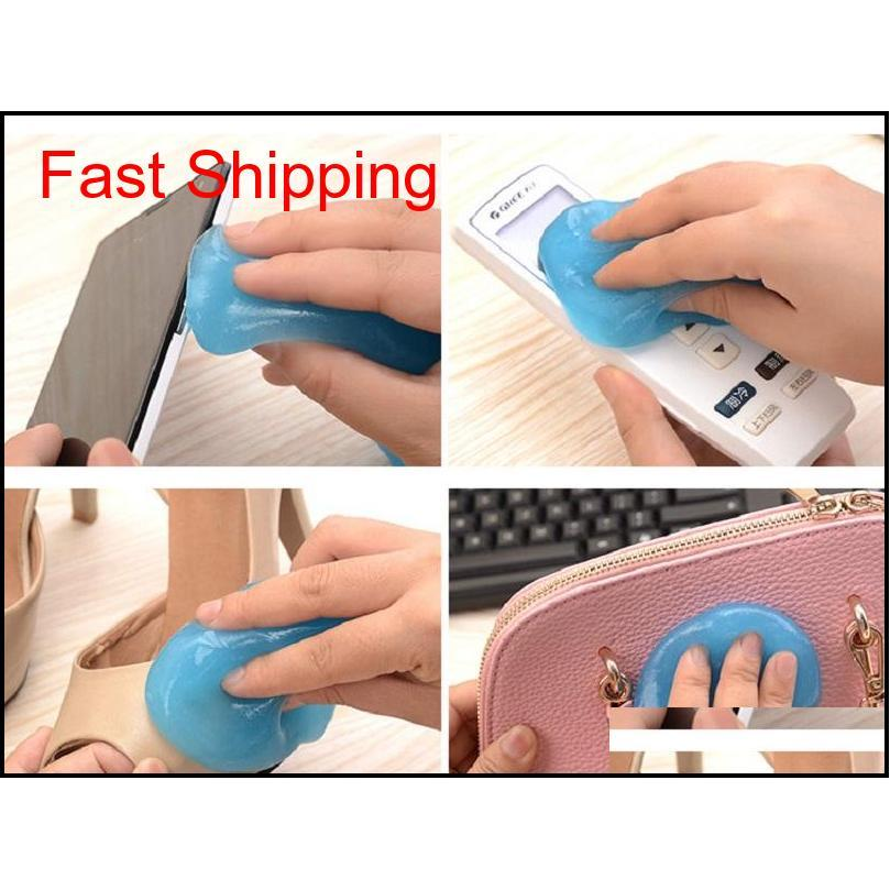 Teclado Limpiador de polvo Magic Gel Limpieza Herramienta de limpieza Mágica Gel de alta tecnología Limpieza Compunfe Qyldyl Bdesports