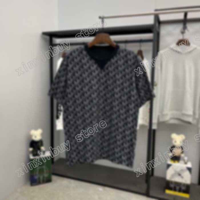 Francia Ultima Primavera Estate Paris Bead Lettera Stampa Tee T Shirt Fashion Felpe con cappuccio da uomo Donna Casual T-shirt
