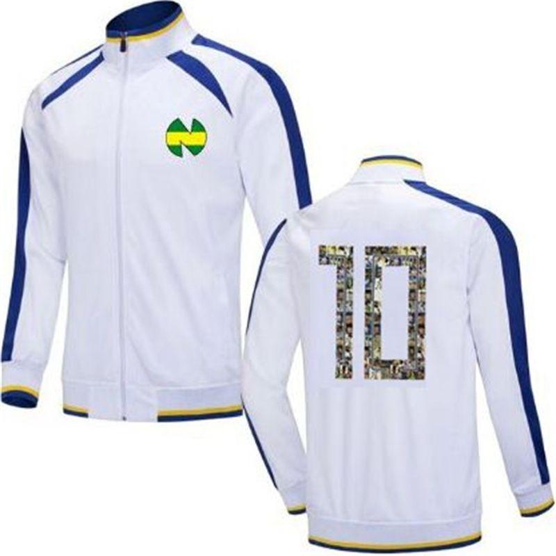 Klasik Erkekler Çocuklar Survetement Maillot De Ayak Kaptan Tsubasa Futbol Eşofman Jersey Ceket Koşu Oliver Atom Eğitim Takım 201204