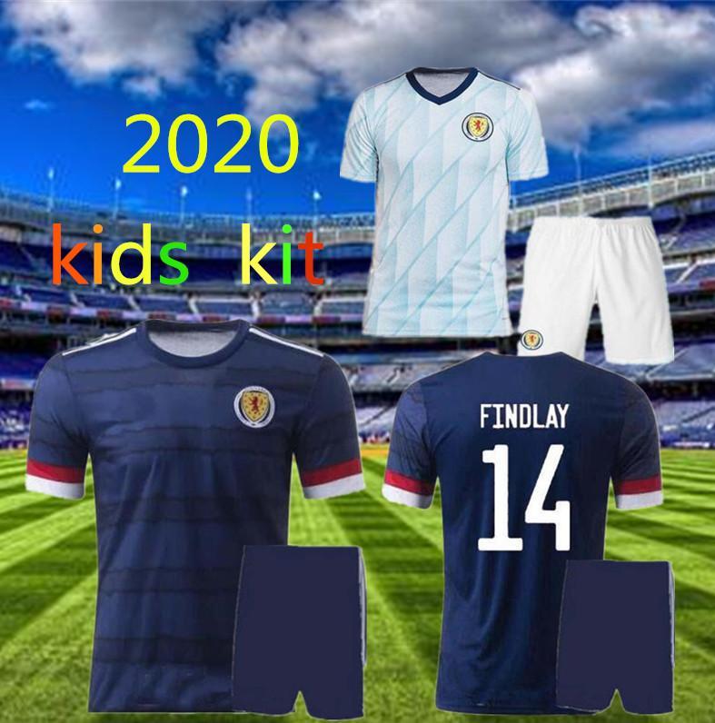 2020 Шотландия футбольные трикотажные изделия Дом Bobertson 2 Fraser 11 Armstrong 18 Burke 9 CCGregor 10 Forrest 7 20 20 Детские Джерси Футбольные рубашки