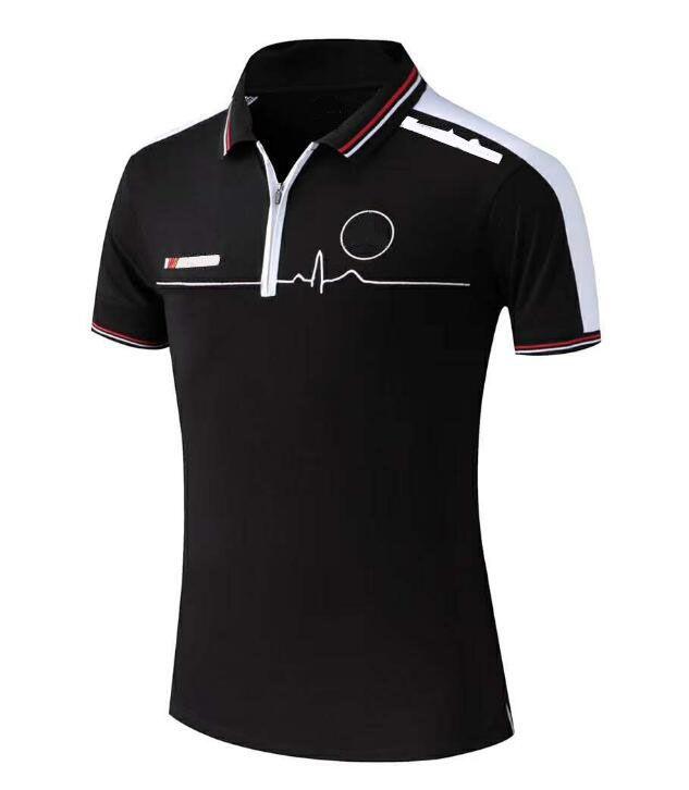 Equipement de moto Coureur Uniforme Polo Shirt court T Polyester Séchage rapide Moto Riding-Séchage rapide Polo Uniforme Custom Custom