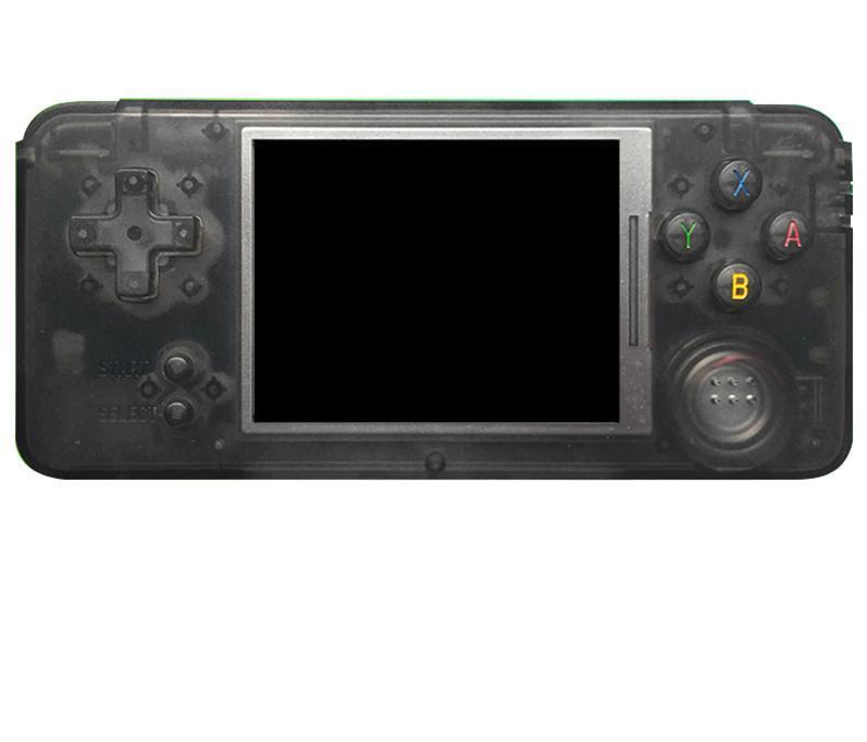 Retribune Gioco portatile Giocatore a portatile 64 bit 3,0 pollici LCD Can Store 3000 Games Portable Game Console per CP1 CP2 Neogeo GBA FC SFC MD Formato