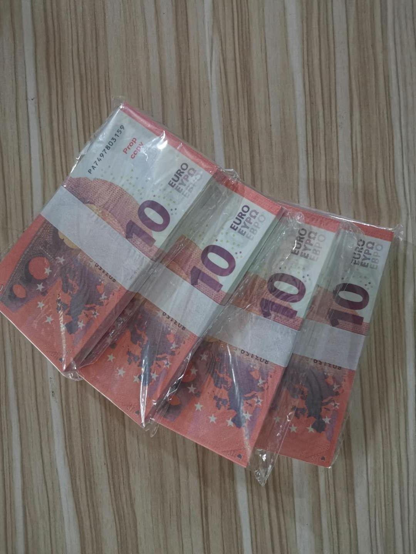 Кино взрослый сценический фальшивый валюта специальный опорный бумажный бар Европеринг игра PROP игрушка-090 экземпляр евро дети денег FCBJD