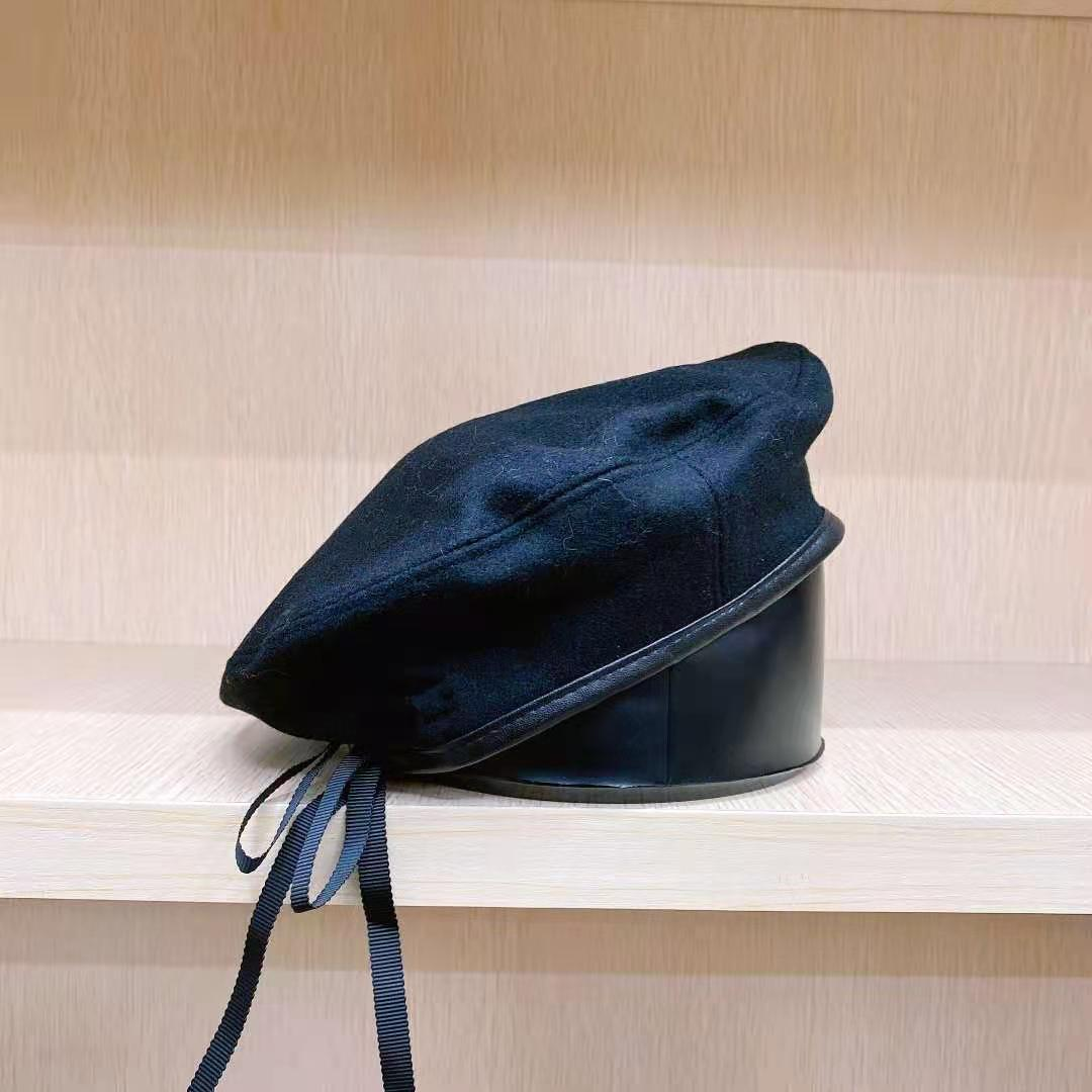 Berretti classici di alta qualità Berretti caldi inverno autunno moda moda elegante cappelli sud-coreano stile coreano ragazze artista pittore cappello caldo cappello