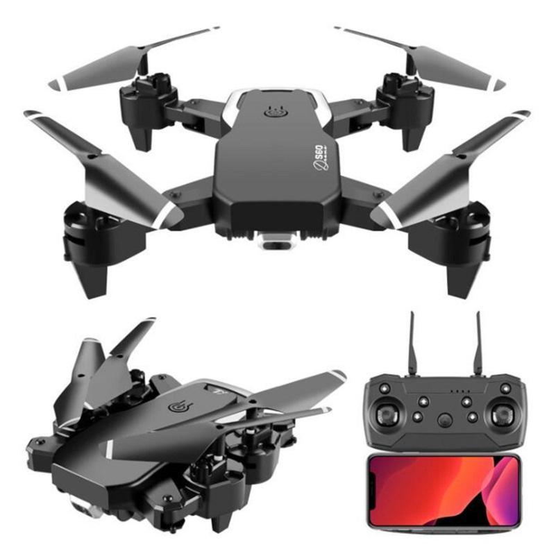 선물 미니 드론 4K 직업 HD 와이드 앵글 카메라 1080P 와이파이 FPV 드론 듀얼 카메라 높이 계속 유지 드론 카메라 헬리콥터 완구