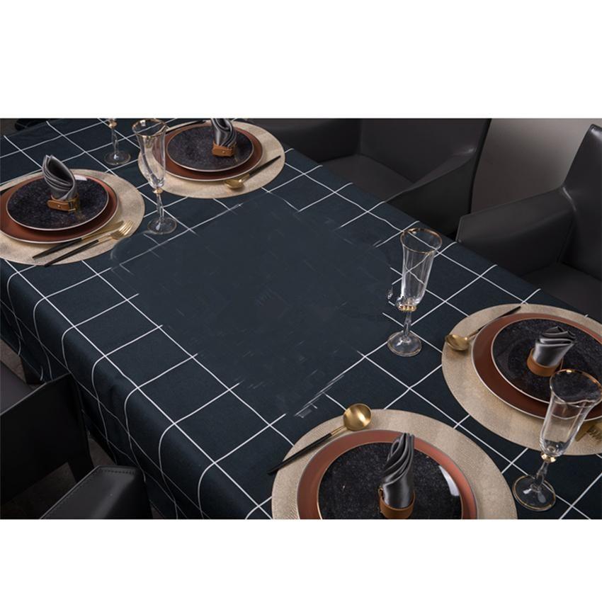 Falda impermeable Falda de mesa Classic Lets de mesa impresa Polvo a prueba de polvo Scald Proof School Shoebox Tablas de café Fridge Cubiertas